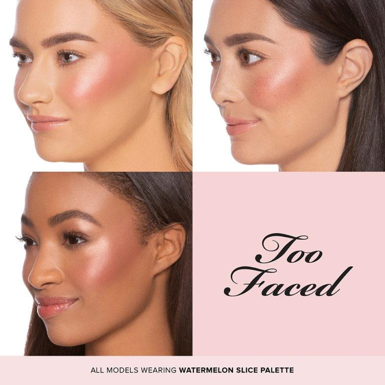 Toofaced Watermelon Slice Face and Eye Palette Faces