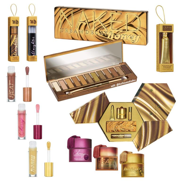 Urban Decay Naked Honey Collection TAG