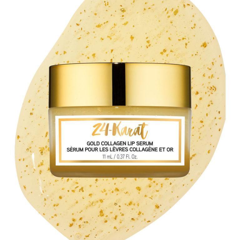 24 Karat Gold Collagen Lip Serum Closed
