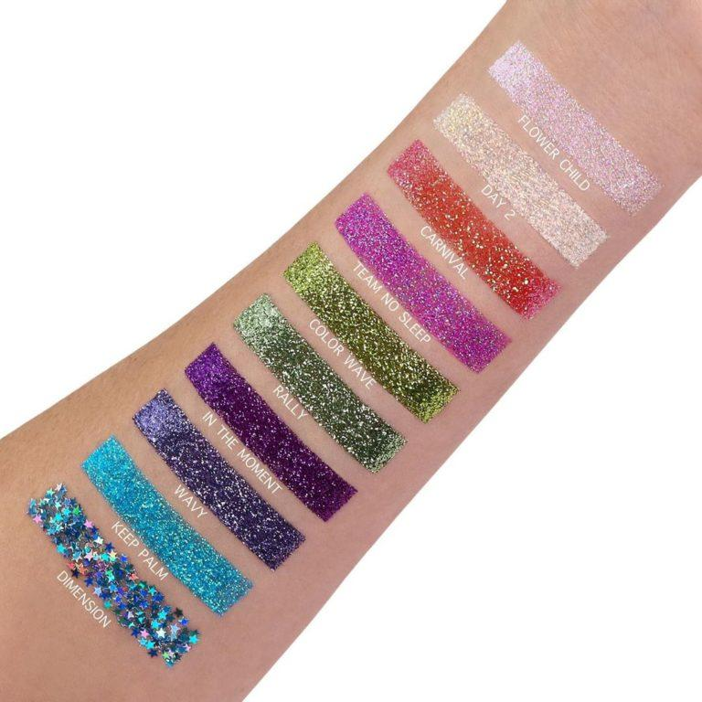 Anastasia Beverly Hills Glitters Swatches 1