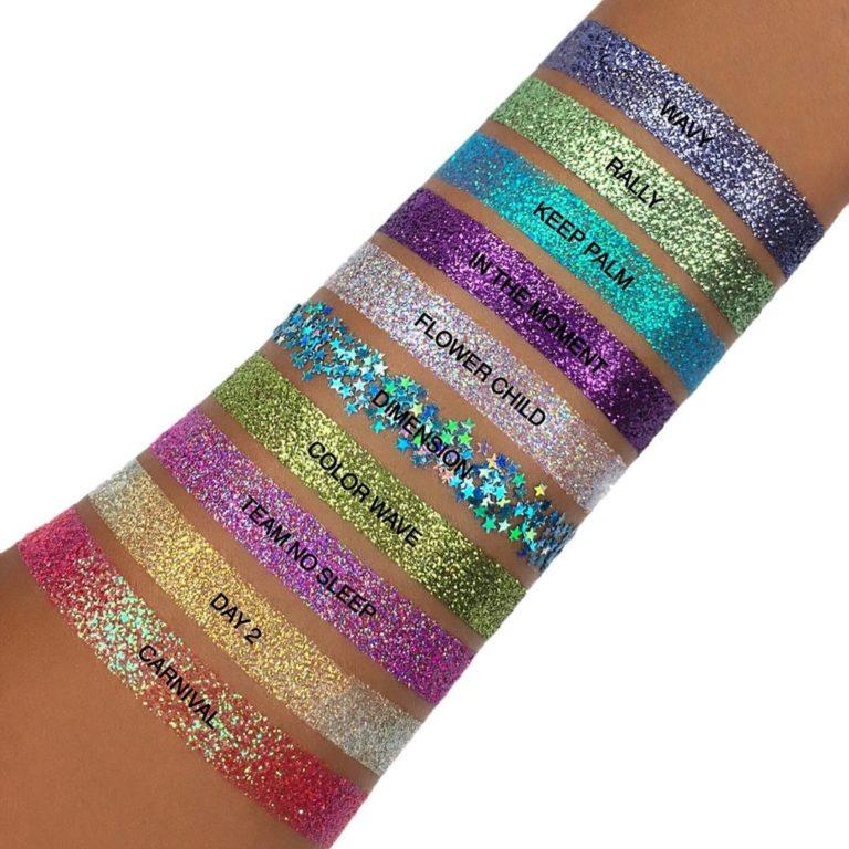 Anastasia Beverly Hills Glitters Swatches 2