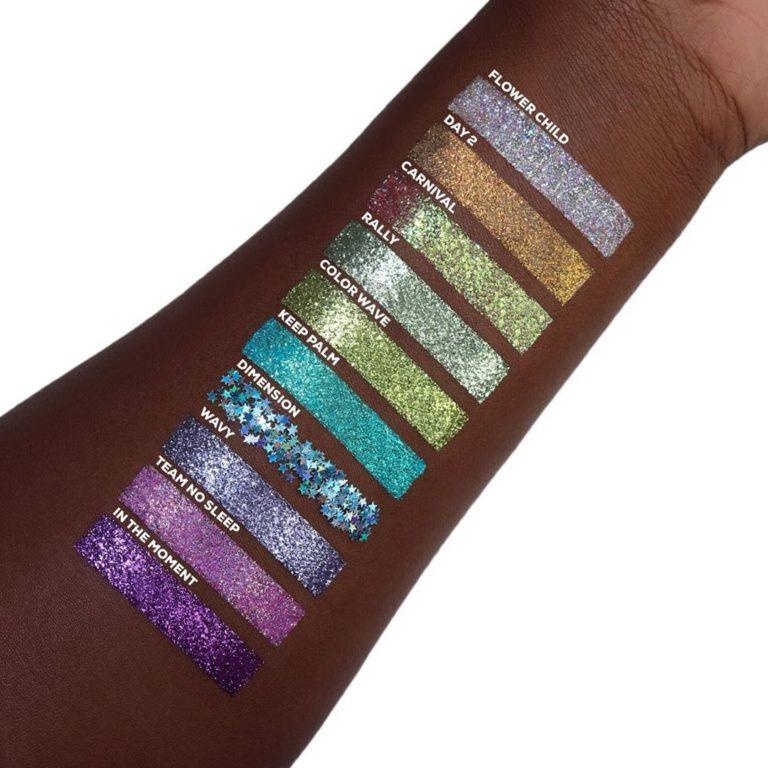 Anastasia Beverly Hills Glitters Swatches 3