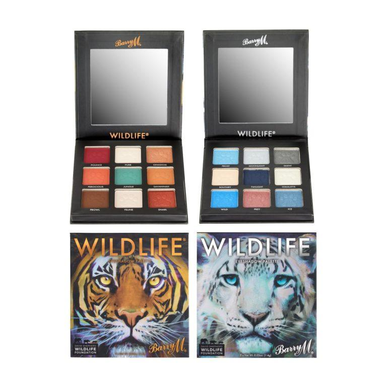 Barry M WILDLIFE® Tiger and Snow Leopard Eyeshadow Palettes Alt