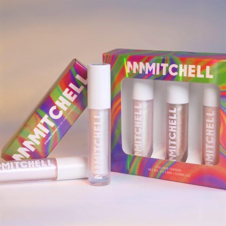 Beauty Bay Me, Myself And Mmmmitchell Eyeliner Topper Collection Promo