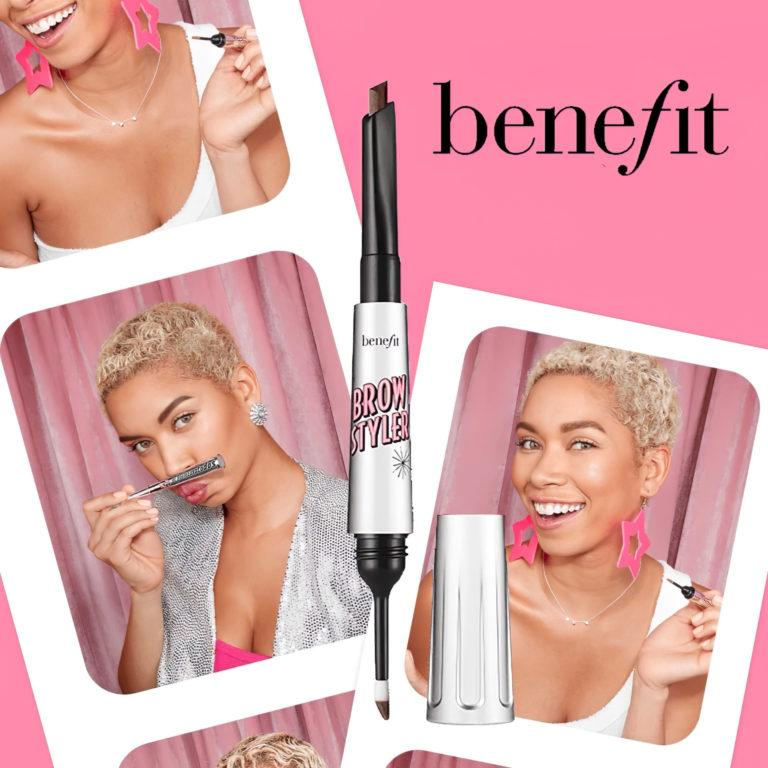 Benefit Brow Styler Eyebrow Pencil & Powder Duo Cover