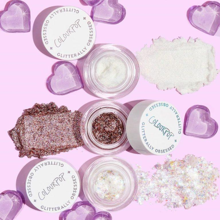 Colourpop Lilac Collection Dewin' Time Glitterally Obsessed Trio