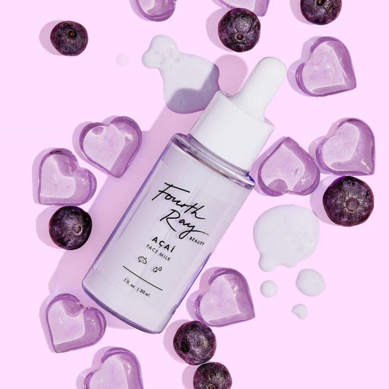 Colourpop Lilac Collection Fourth Ray Beauty Acai Face Milk
