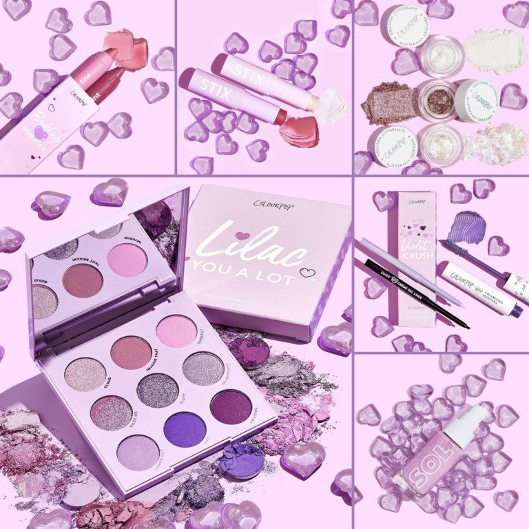 Colourpop Lilac Collection Header