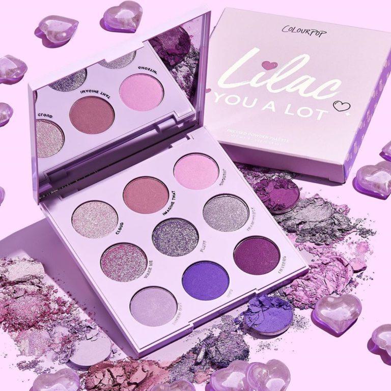 Colourpop Lilac Collection Lilac You a Lot Palette