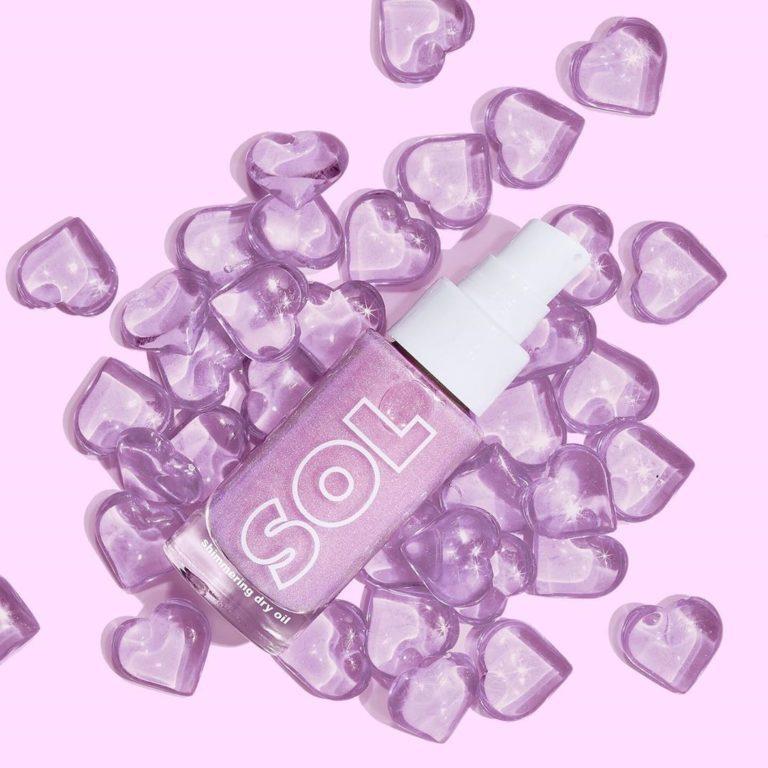 Colourpop Lilac Collection Sol Body Mini Lilac Glow Oil