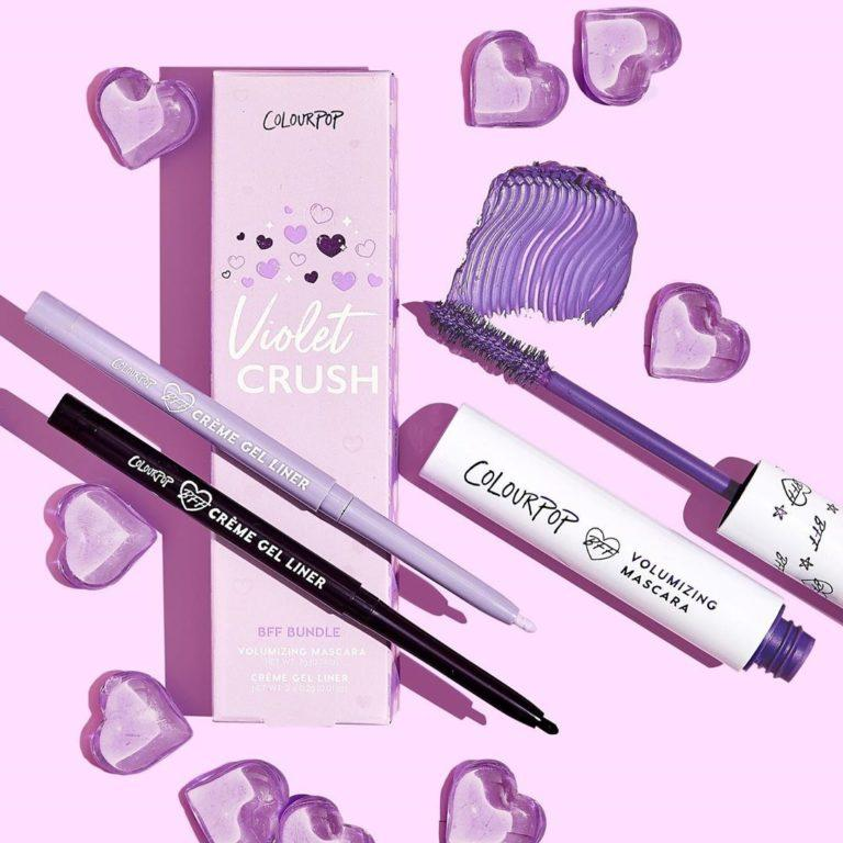 Colourpop Lilac Collection Violet Crush BFF Bundle