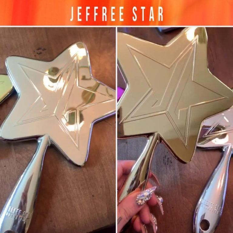 Jeffree Star Cosmetics Mirrors Silver & Gold