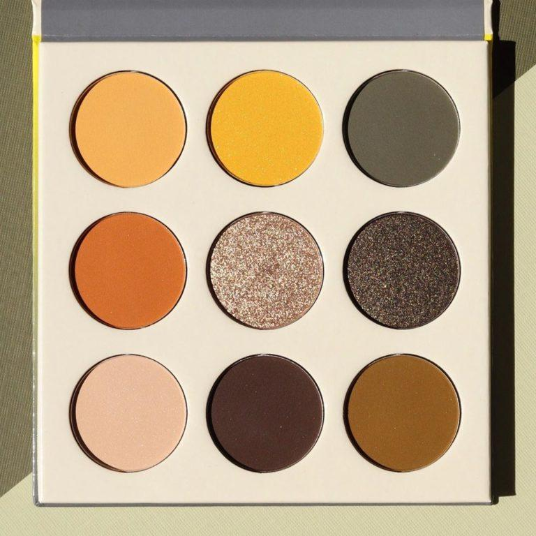 Juvias Place The Nomad Eyeshadow Palette shades