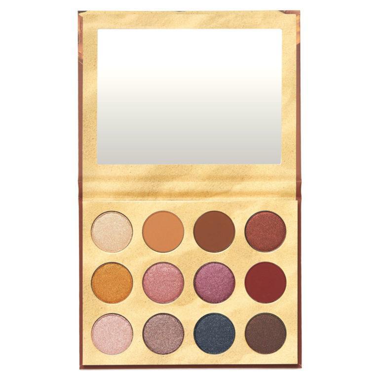 KKW x Winnie Eyeshadow Palette Open