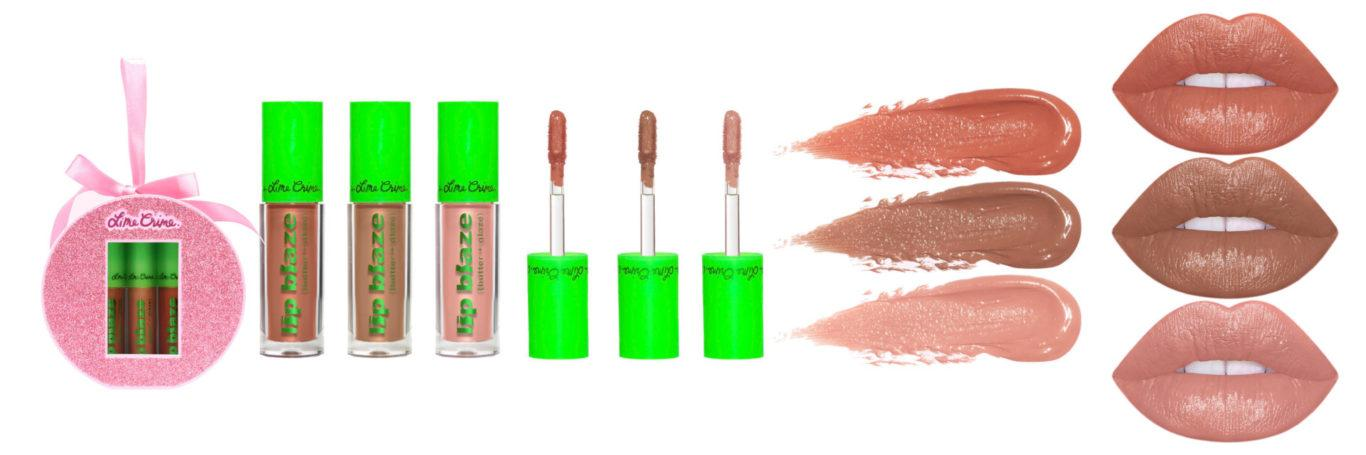 Lime Crime Holiday Blazin' Holiday Mini Lip Blaze Set
