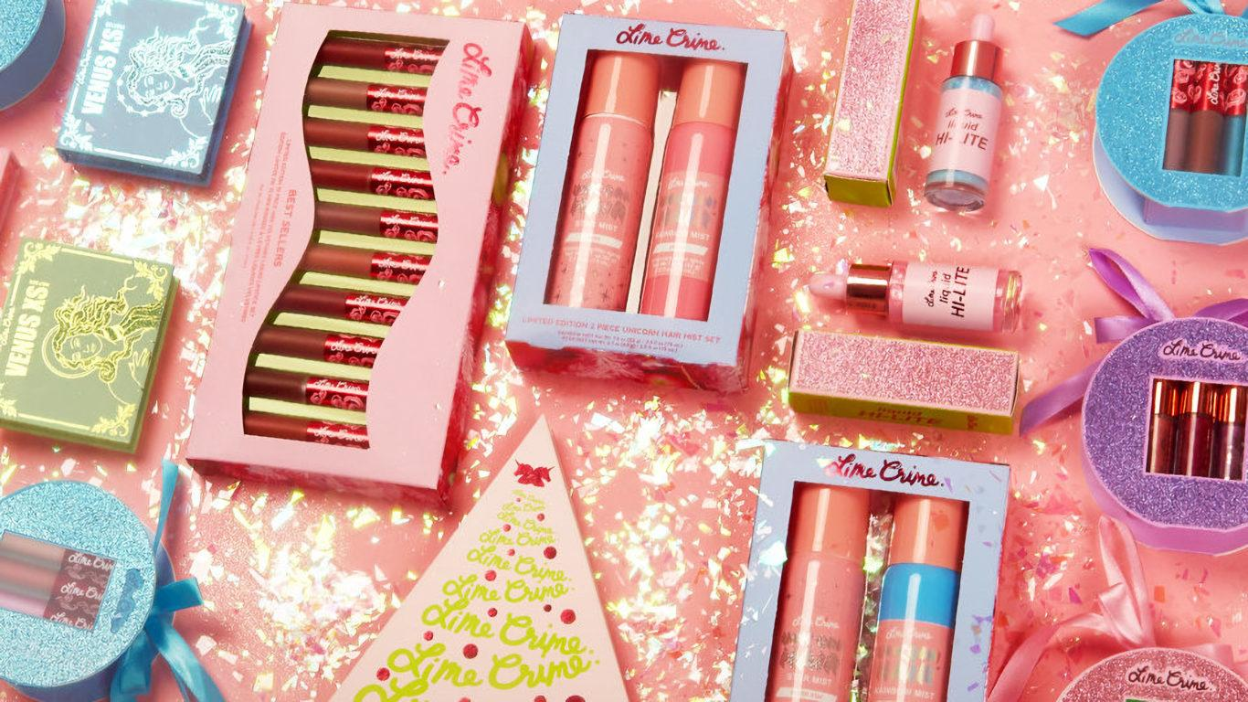 Lime Crime Holiday Blog Header