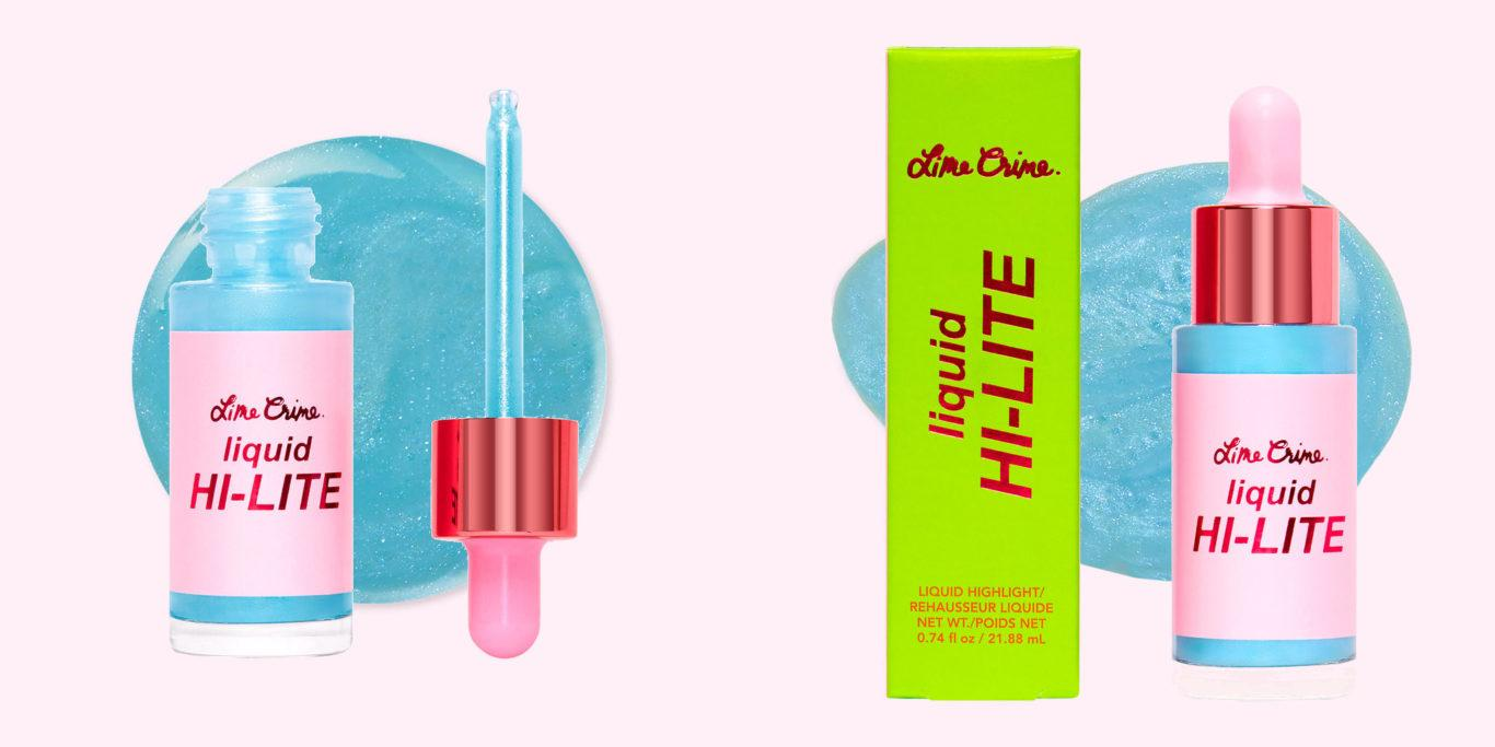 Lime Crime Holiday Blue Ice Liquid Highlighter