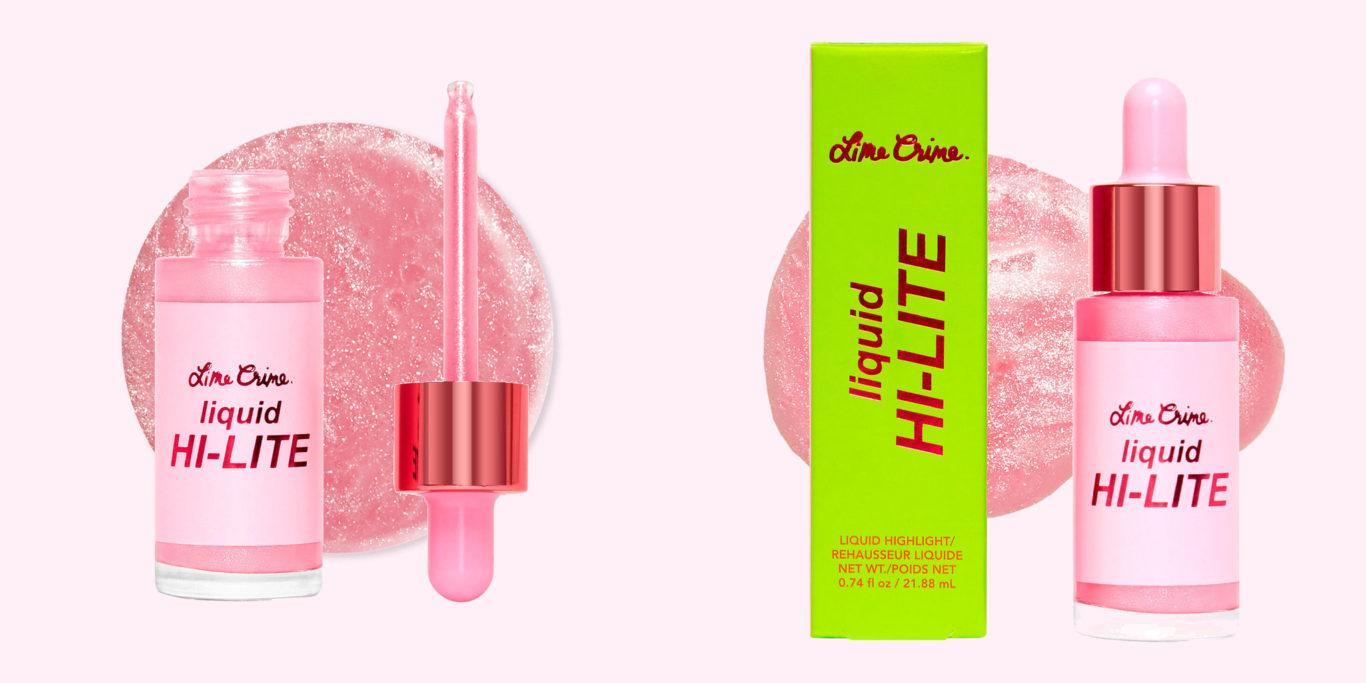 Lime Crime Holiday Pink Glaze Liquid Highlighter