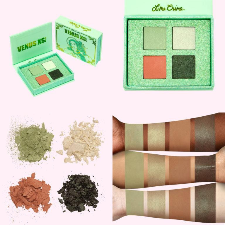 Lime Crime Holiday Venus XS Eyeshadow Palette Holly Daze