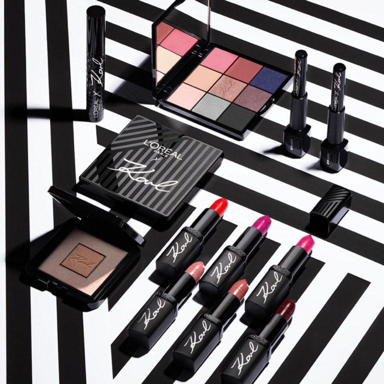 Loreal Paris X Karl Lagerfeld Collection