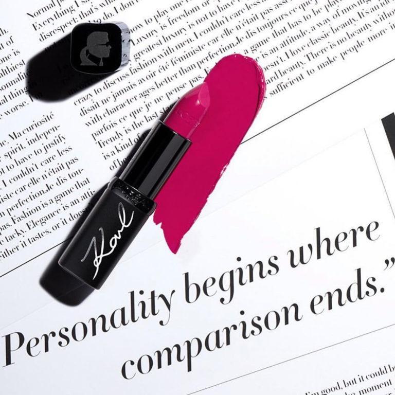 Loreal Paris X Karl Lagerfeld Lipsticks Promo 2