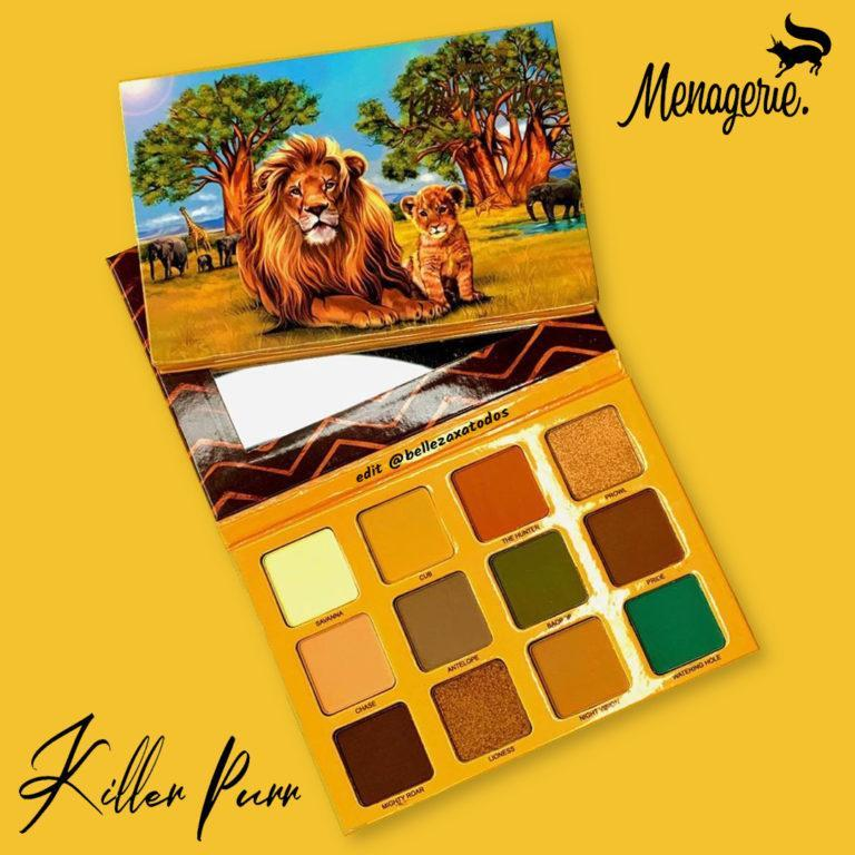 Menagerie Cosmetics Killer Purr Palette Post Cover