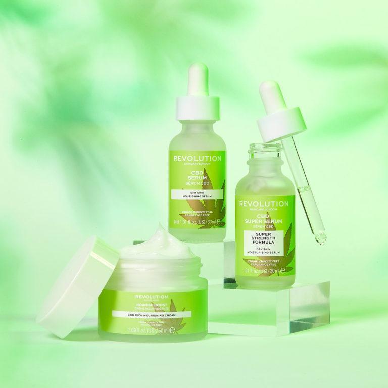 Revolution Skincare CBD line
