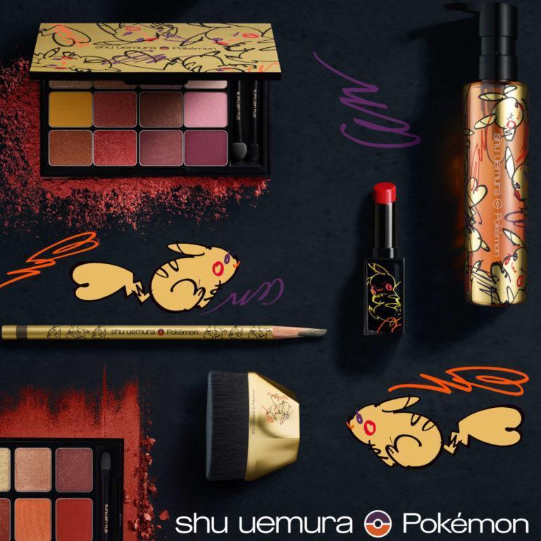 Shu uemura Pikashu Collection Main Promo