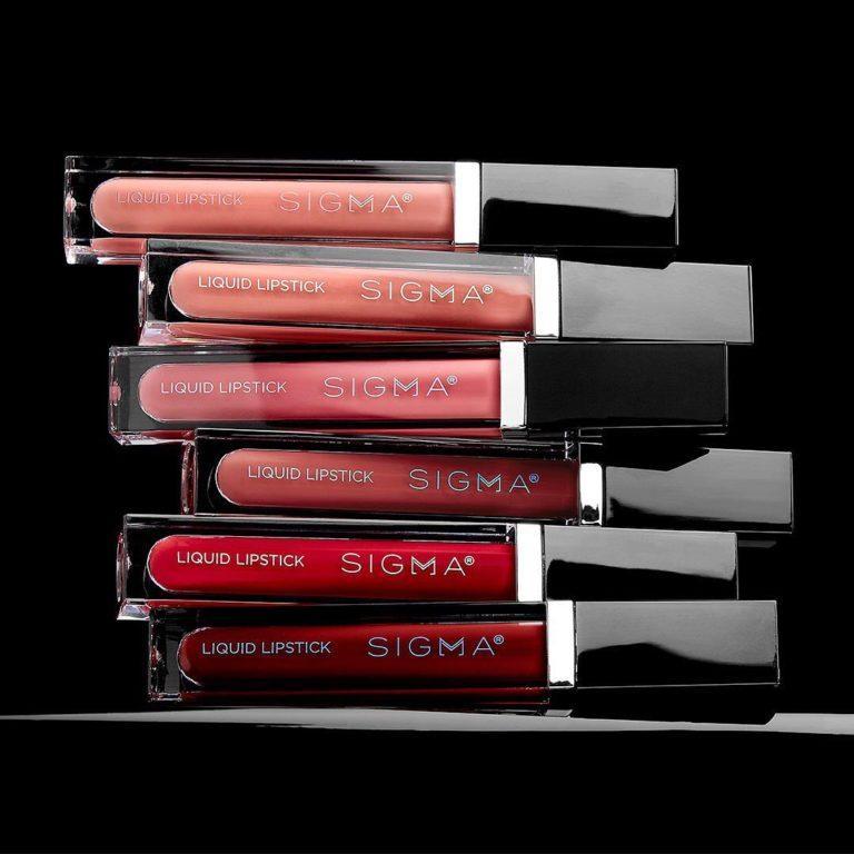 Sigma Liquid Lipsticks