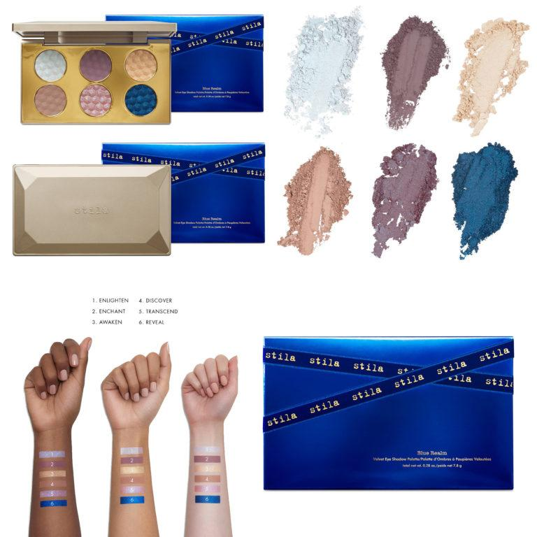 Stila Cosmetics Collection Blue Realm Velvet Eyeshadow Palette