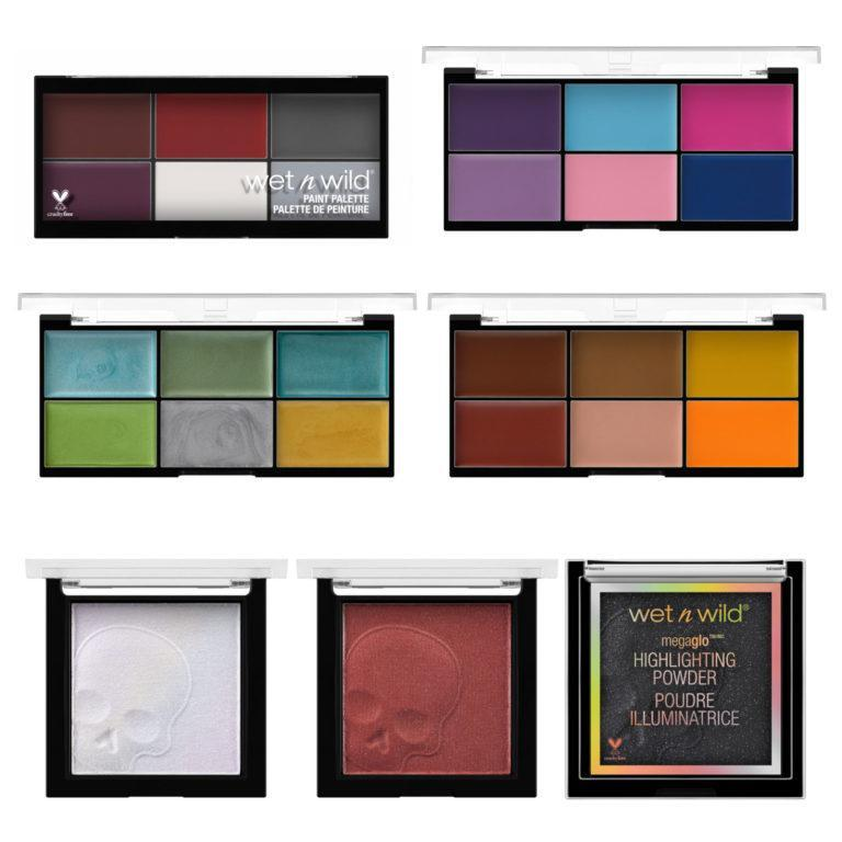 Wet N Wild Fantasy Makers Paint Palettes & Highlighters