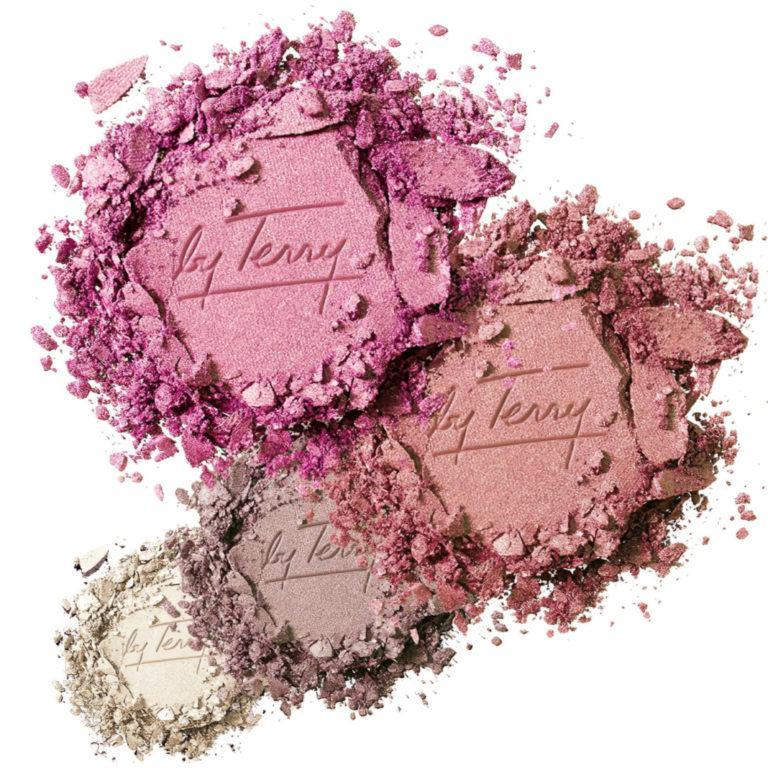 by Terry Rose Radiance Palette Eyeshadow and Blush Palette Swatch
