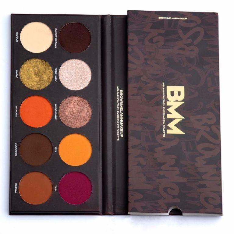 Brown Melanin Makeup The Melanin Fantasy Eyeshadow Palette