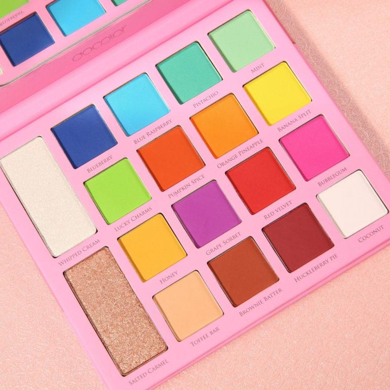 Chellylovesmakeup91 x Docolor Ice Cream Palette Closer