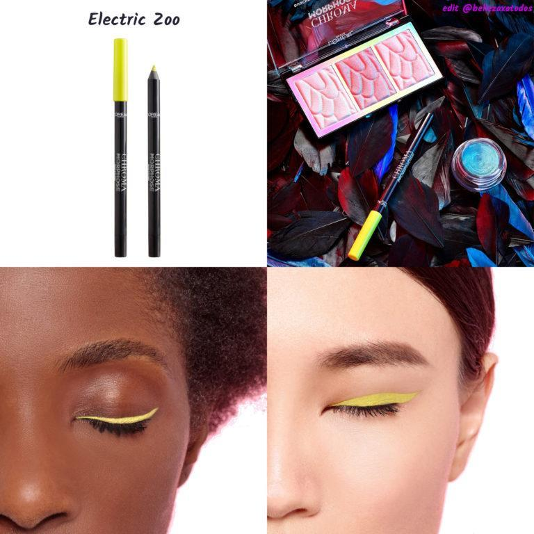 Chroma Morphose Eyeliner neon Electric Zoo TAG