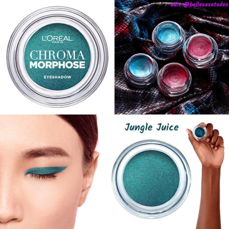Chroma Morphose Glitter Eyeshadow Jungle Juice TAG