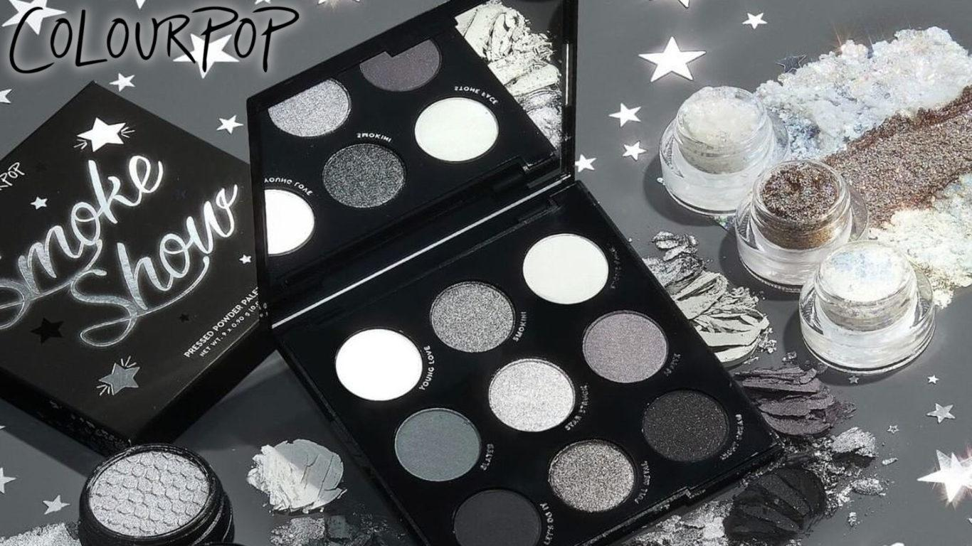 Colourpop The Smoke Show Collection Blog Header