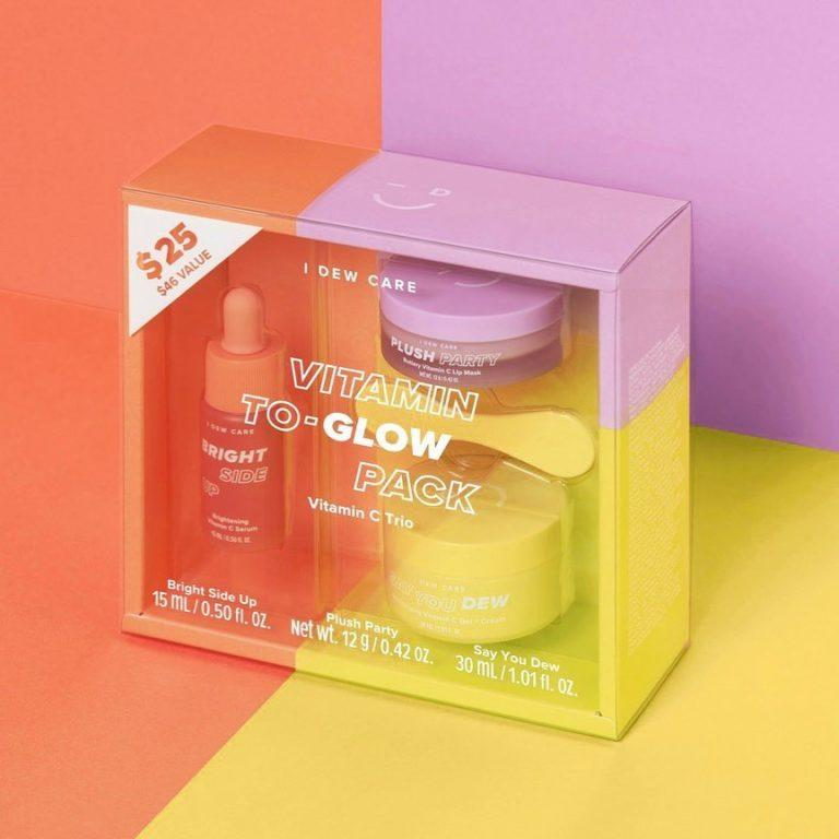 I Dew Care Vitamin To Glow Brightening Pack