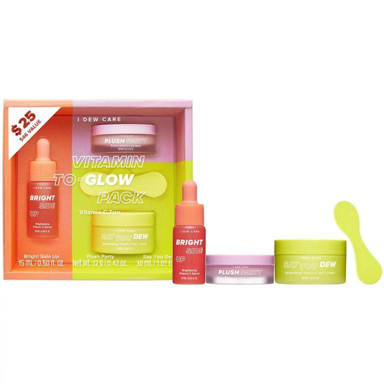 I Dew Care Vitamin To Glow Brightening Pack Open