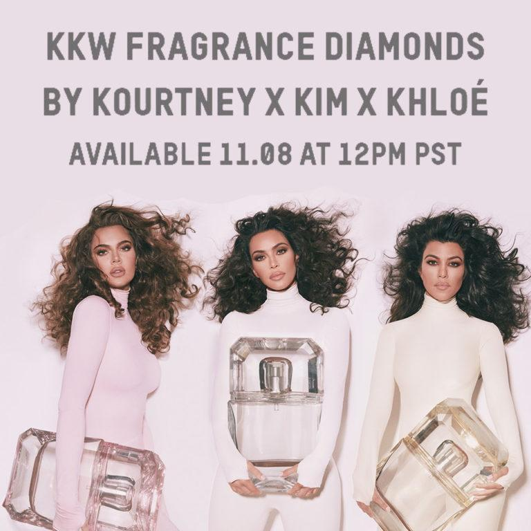 KKW Fragance Diamonds by Kourtney x Kim x Khloé Post Cover