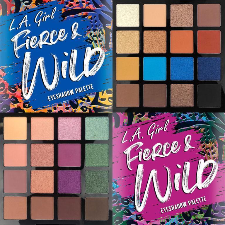L.A. Girl Fierce & Wild Cover
