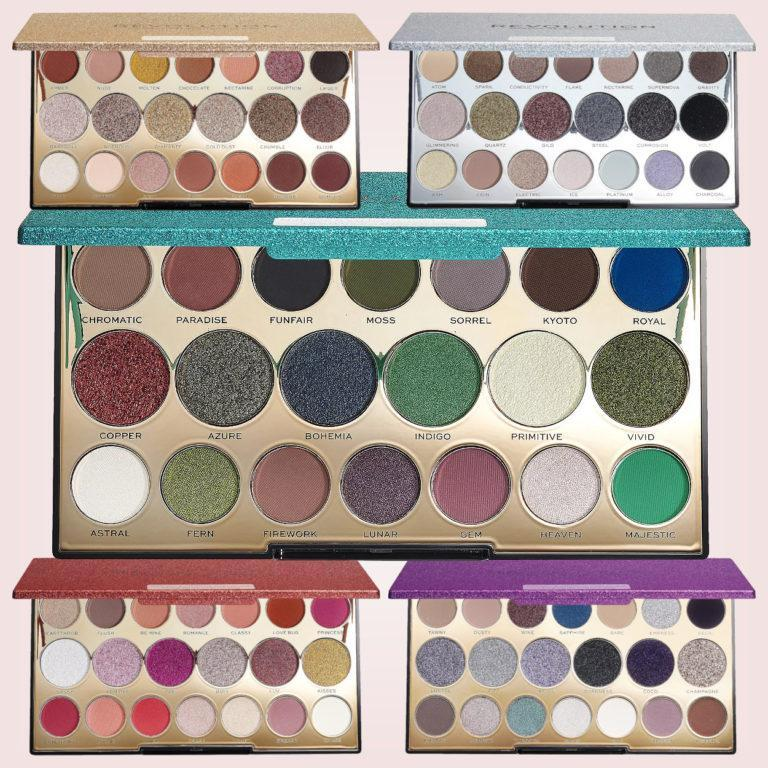 Makeup Revolution Precious Stone Palettes Post Cover