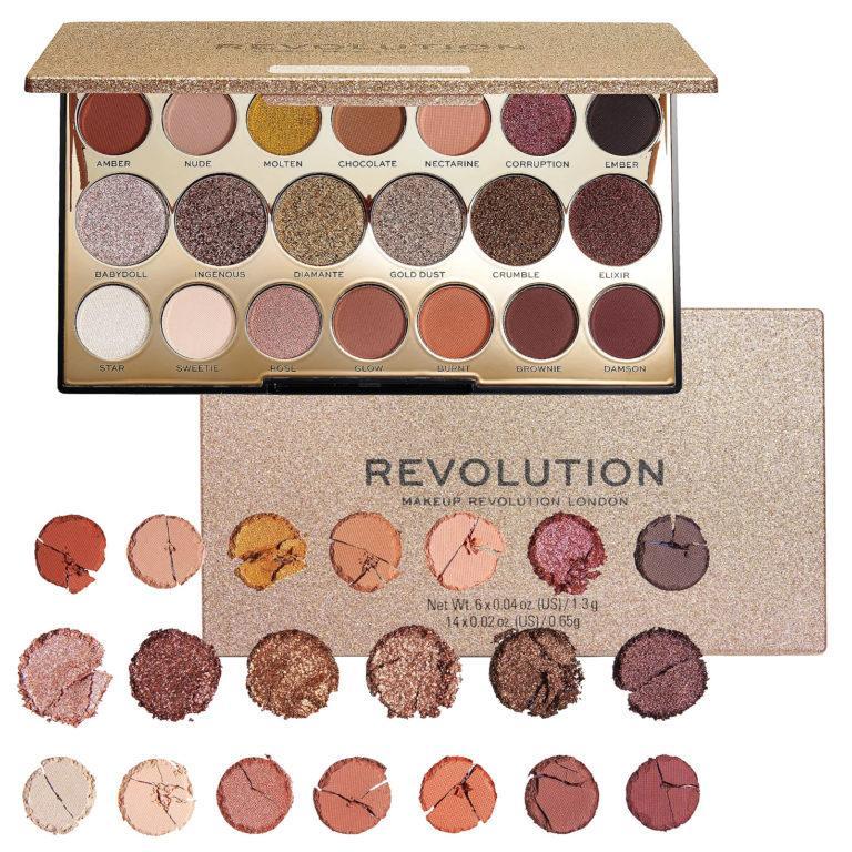 Makeup Revolution Precious Stone Rose Quartz Shadow Palette
