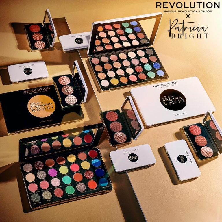 Makeup Revolution X Patricia Bright Collection Post Cover
