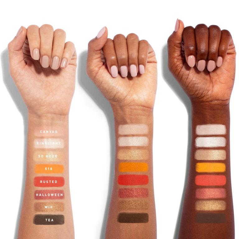 Morphe x James Charles Minipalette Swatches Row 1