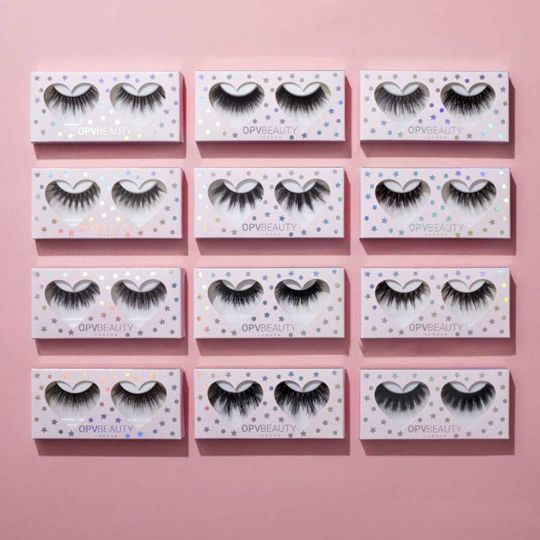 OPV 3D Silk Collection Lashes Boxes