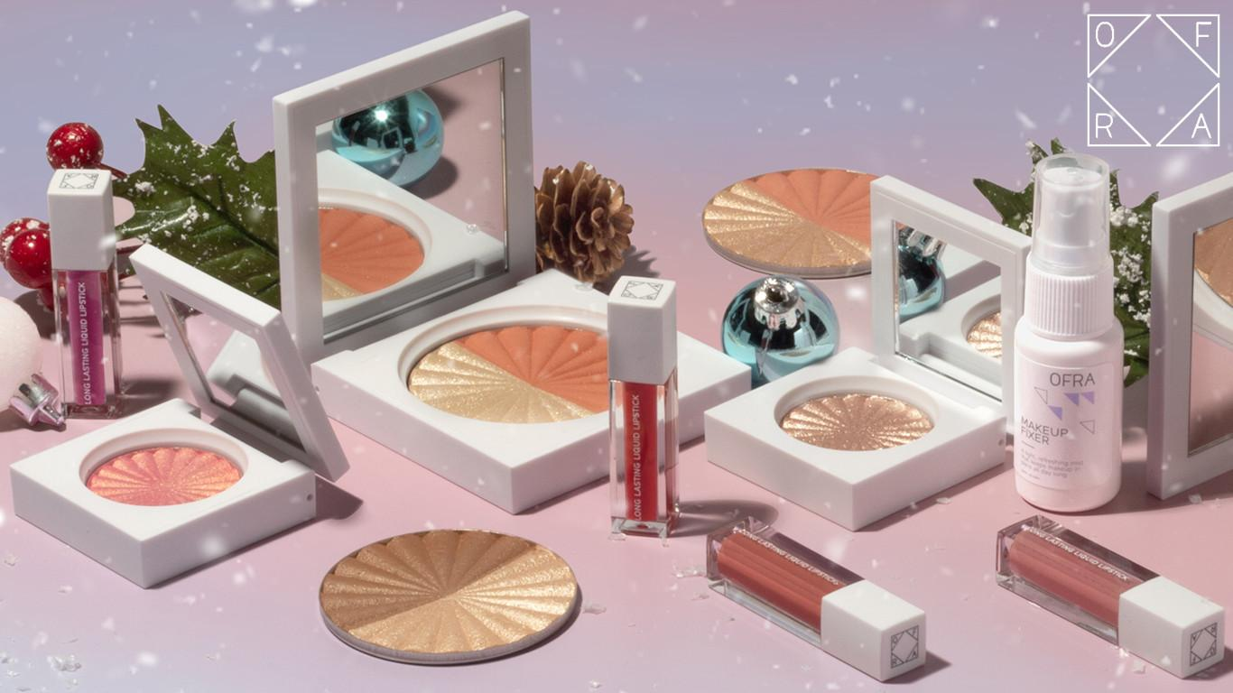 Ofra Cosmetics Snowed in Holiday 2019 Blog Post Header