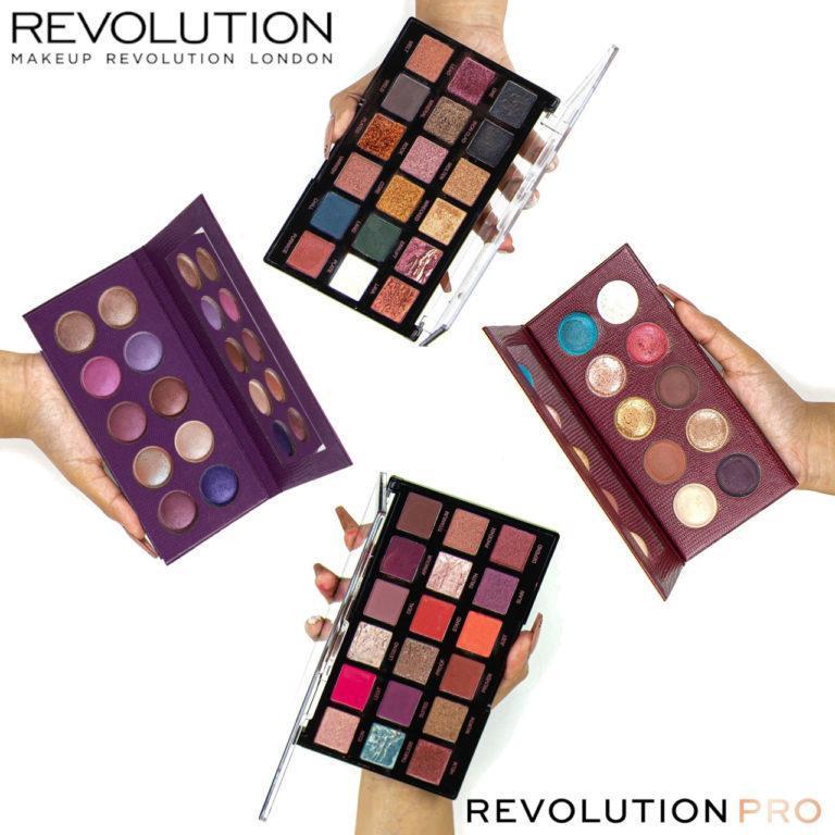 Revolution PRO Color Focus & Regeneration Palettes Post Cover