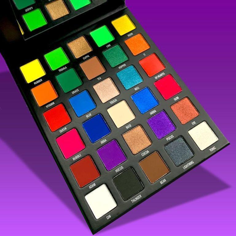 Sample Beauty The Equalizer Palette™ Purple BG