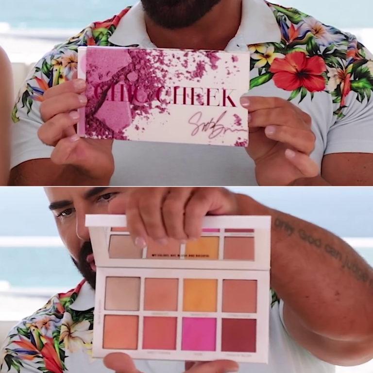 Scott Barnes Chic Cheek Blush Palette